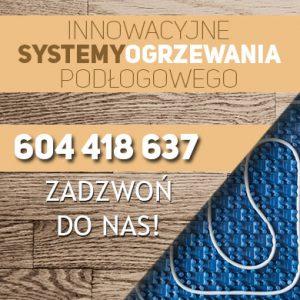 Ogrzewanie podłogowe na legarach Wrocław