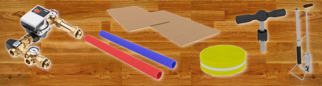 Materiały na ogrzewanie podłogowe